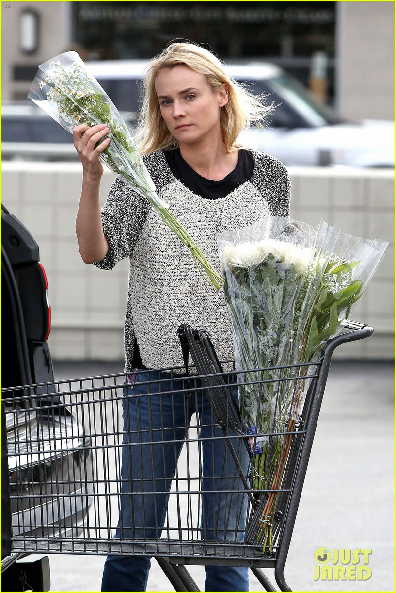 diane kruger flower fabulous after met ball trip 022866867