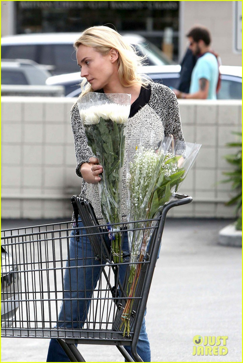 diane kruger flower fabulous after met ball trip 202866885