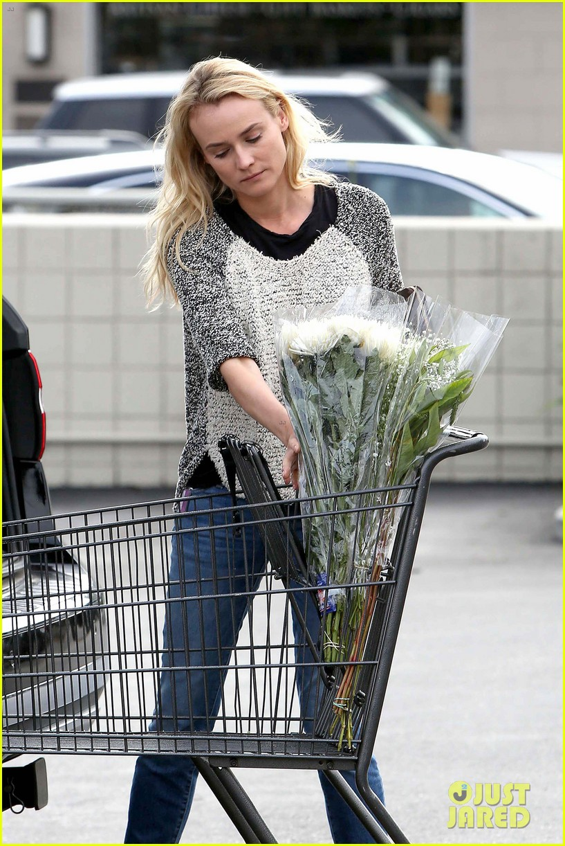 diane kruger flower fabulous after met ball trip 252866890