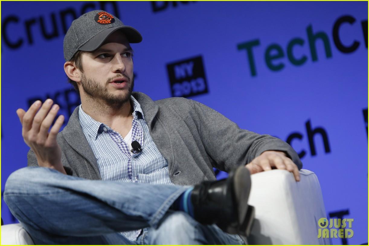 ashton kutcher techcrunch disrupt ny 01