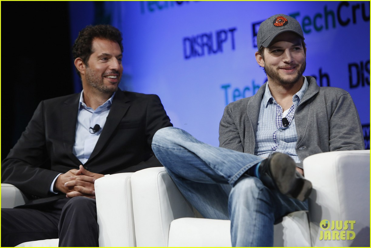 ashton kutcher techcrunch disrupt ny 022861899