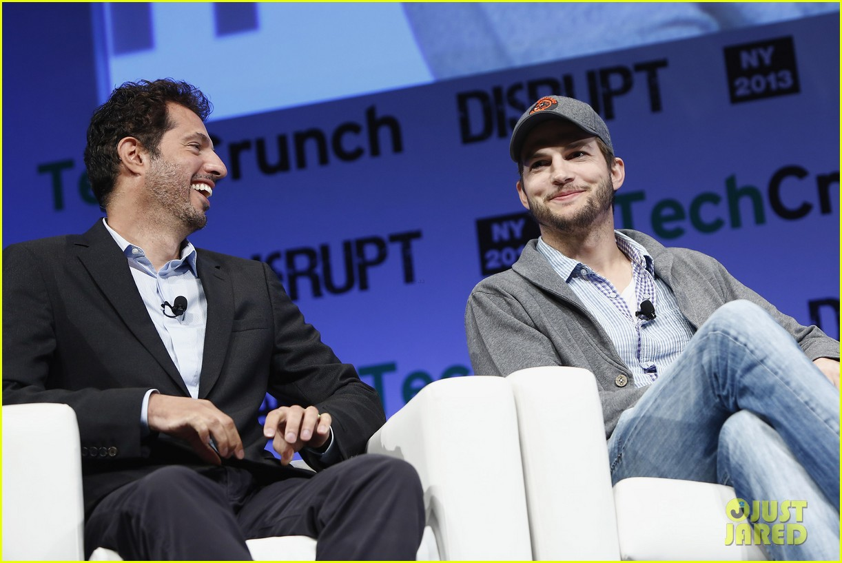 ashton kutcher techcrunch disrupt ny 072861904