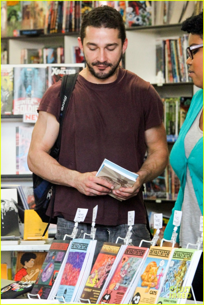 shia labeouf stale n mate book signing 112863610