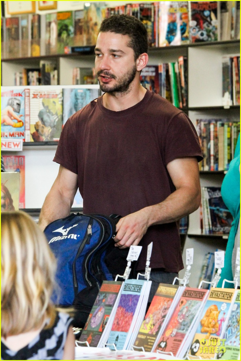shia labeouf stale n mate book signing 132863612