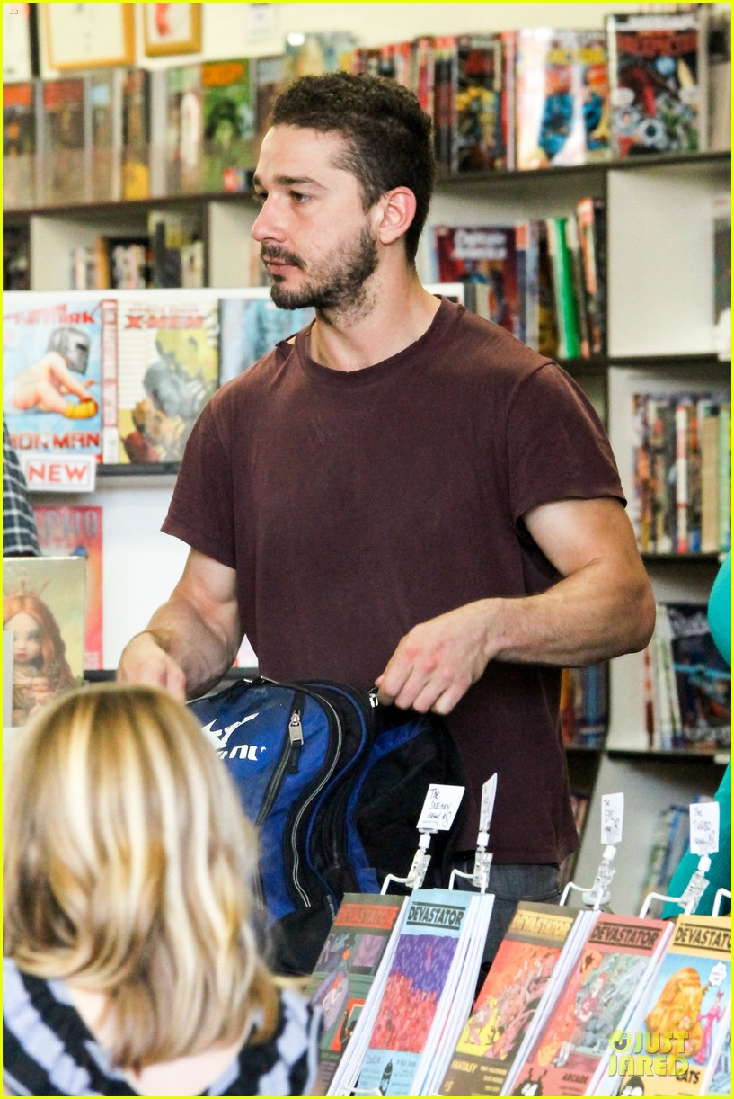 shia labeouf stale n mate book signing 172863616