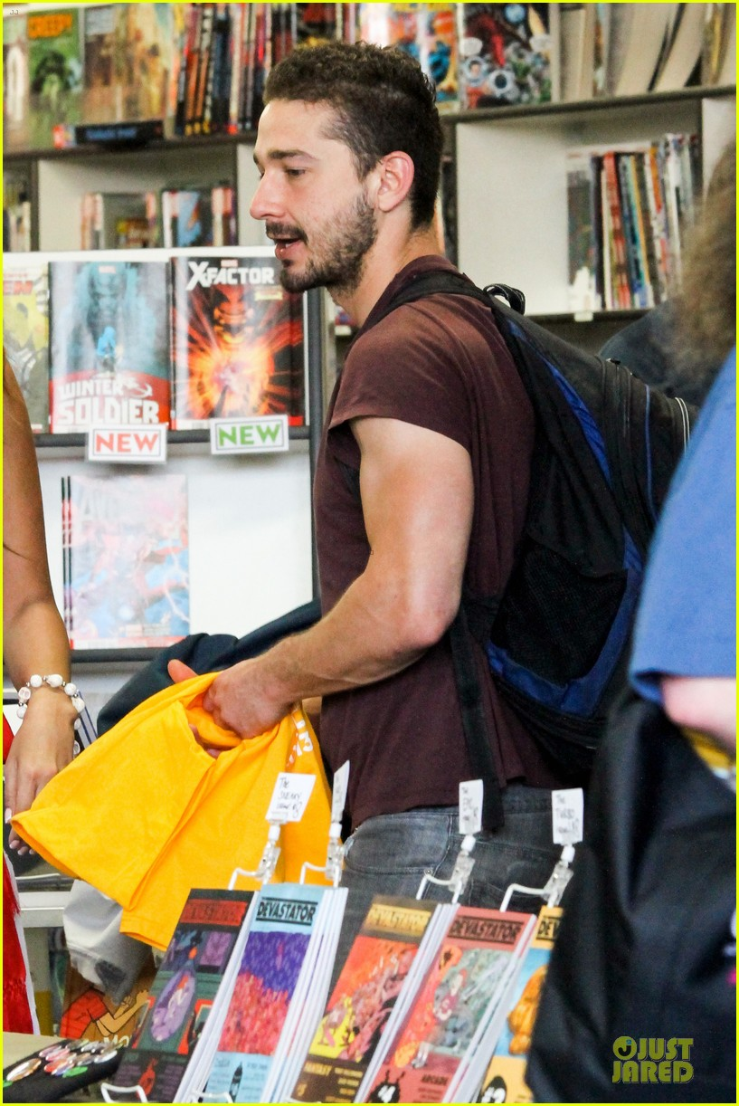 shia labeouf stale n mate book signing 212863620