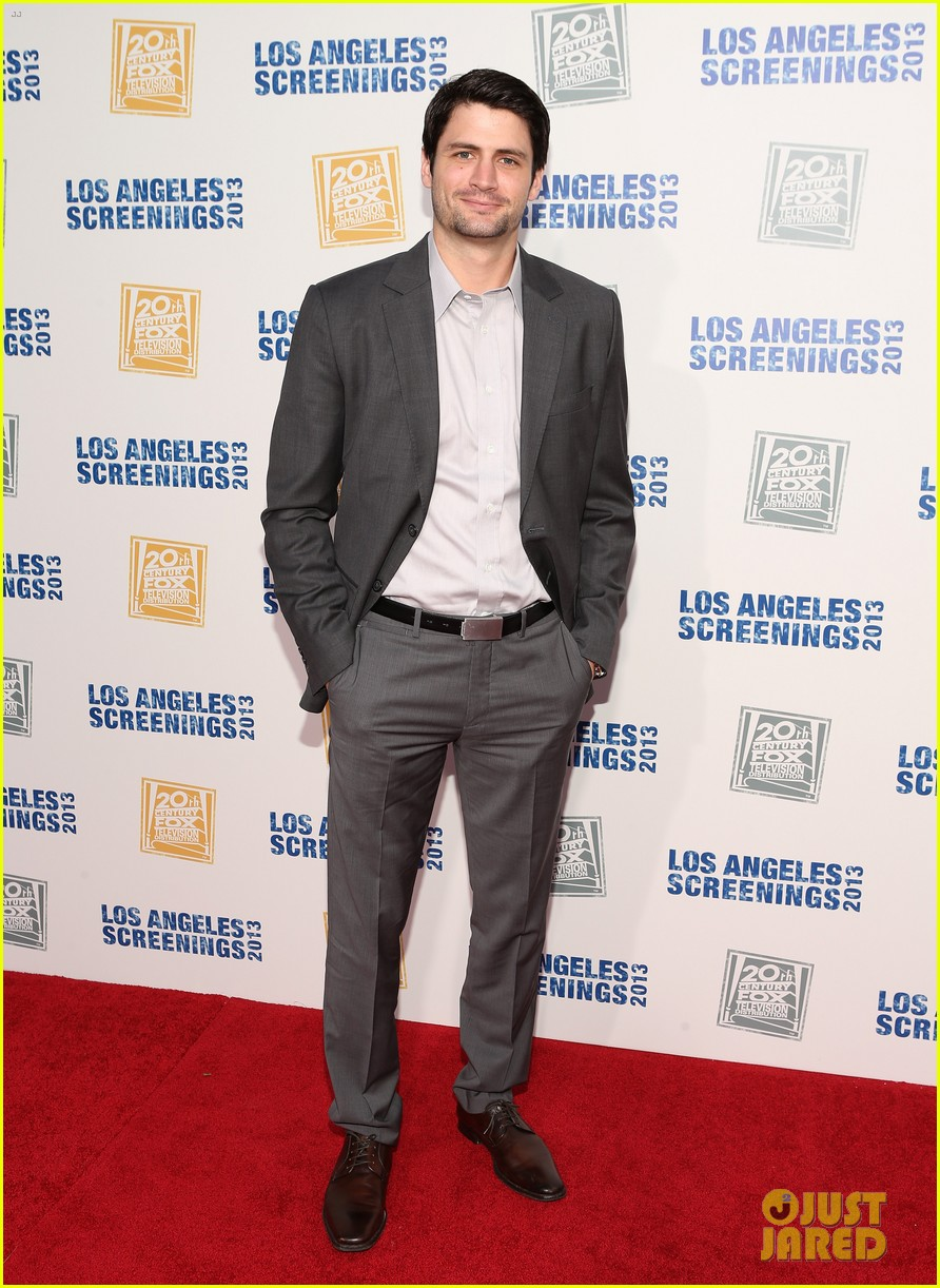 james lafferty max greenfield fox l a screenings lot party 012877220