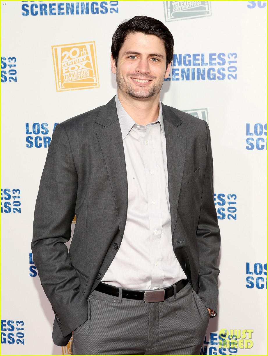 james lafferty max greenfield fox l a screenings lot party 15
