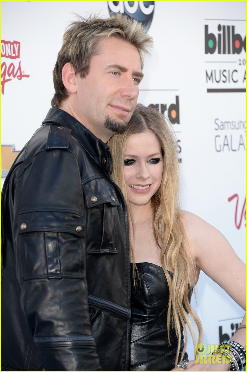 avril lavigne billboard music awards with chad kroeger 032874052