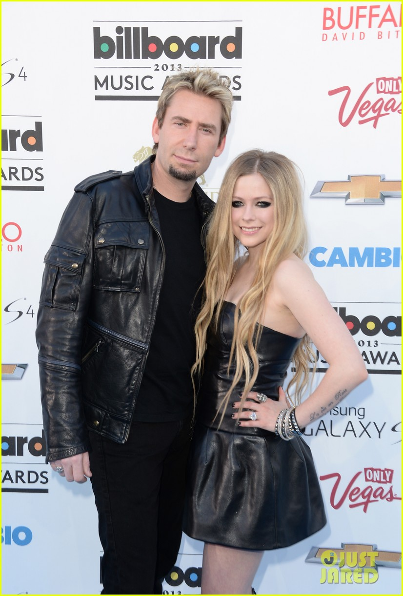 avril lavigne billboard music awards with chad kroeger 042874053