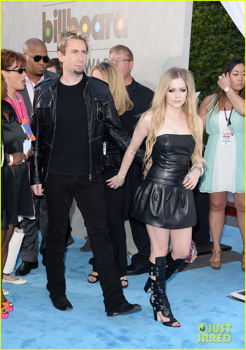 avril lavigne billboard music awards with chad kroeger 052874054