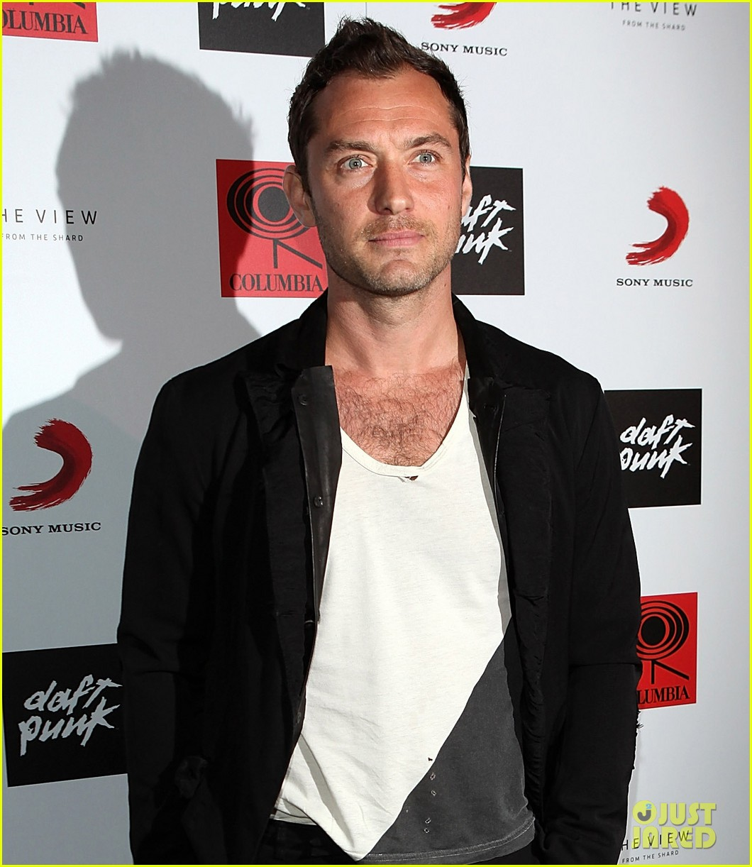 jude law daft punk random access memories listening party 012870063