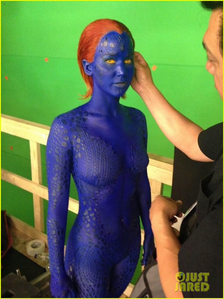 jennifer lawrence in x men days of future past first look pic 02