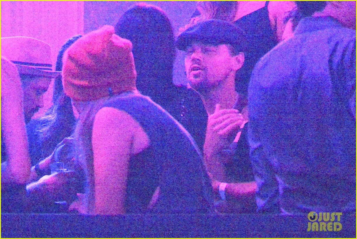 leonardo dicaprio hides face after clubbing at cannes 022874491