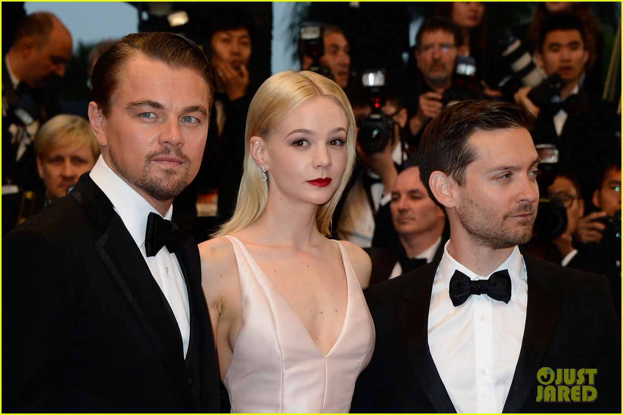 Full Sized Photo of leonardo dicaprio carey mulligan great gatsby ... тоби магуайр