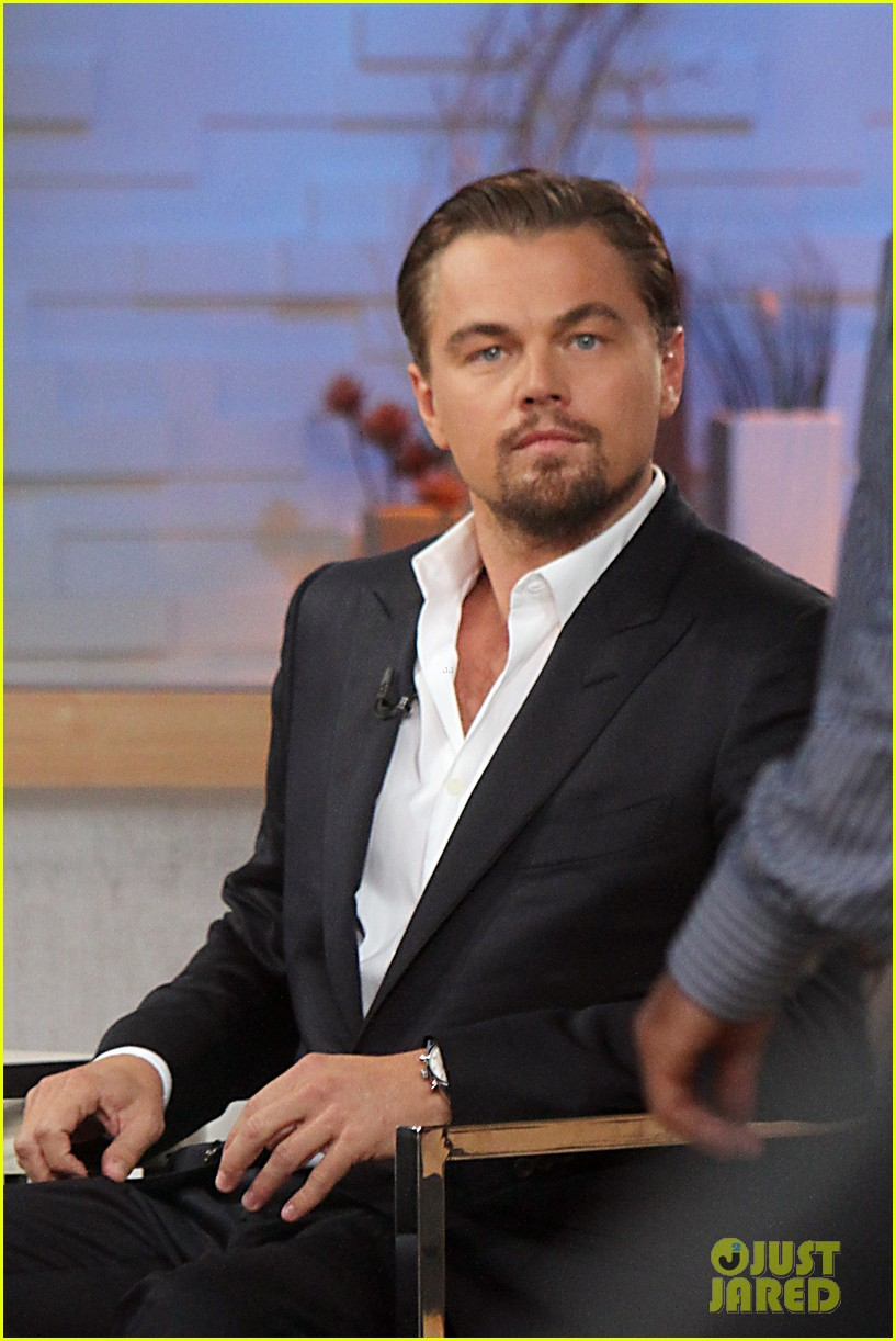 leonardo dicaprio good morning america guest 012866491