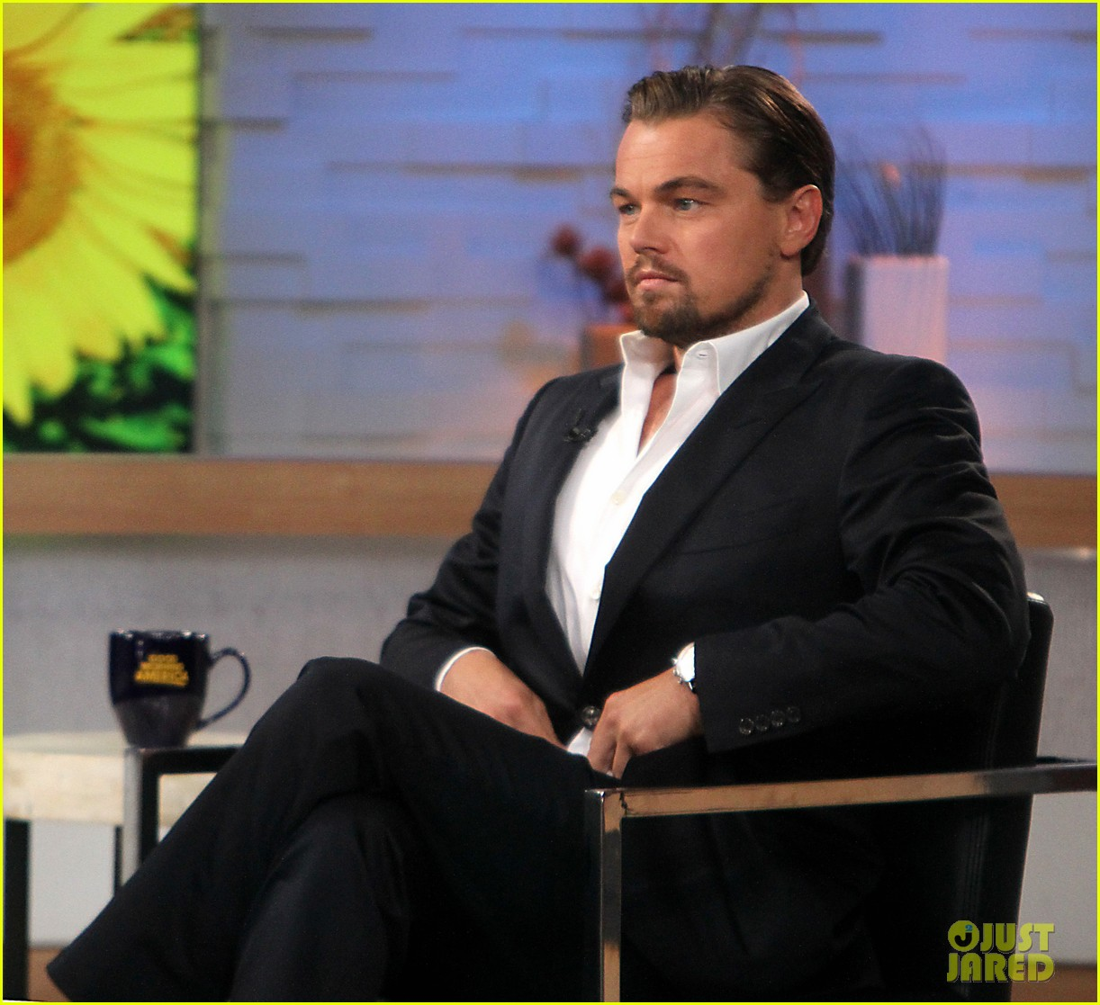 leonardo dicaprio good morning america guest 042866494