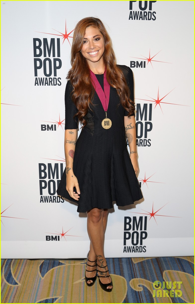 adam levine karmin 2013 bmi pop awards 082870667