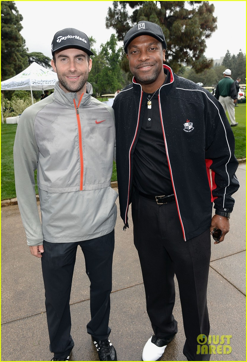 adam levine george lopez celebrity golf classic 2013 142865012
