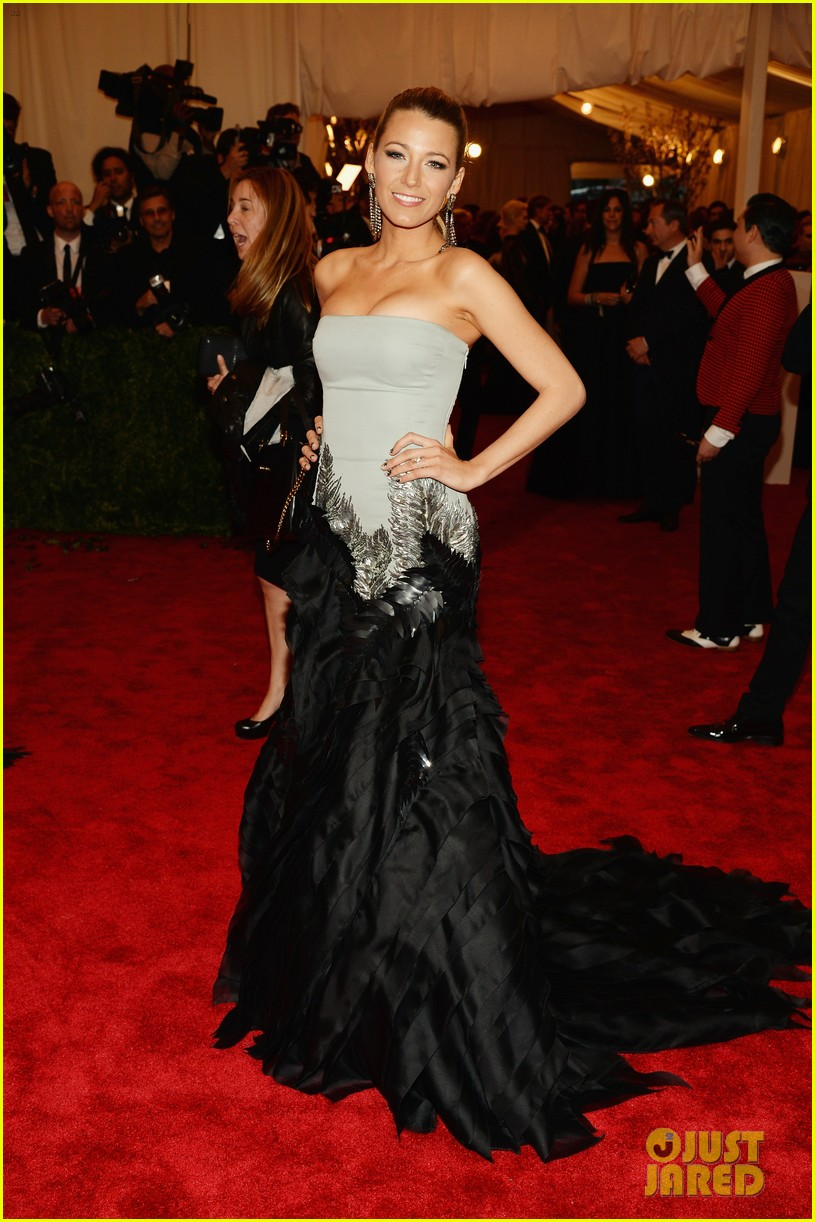 blake lively met ball 2013 red carpet 052865237