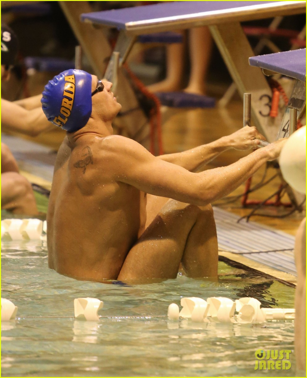 ryan lochte shirtless speedo stud for mel zajac jr meet 19