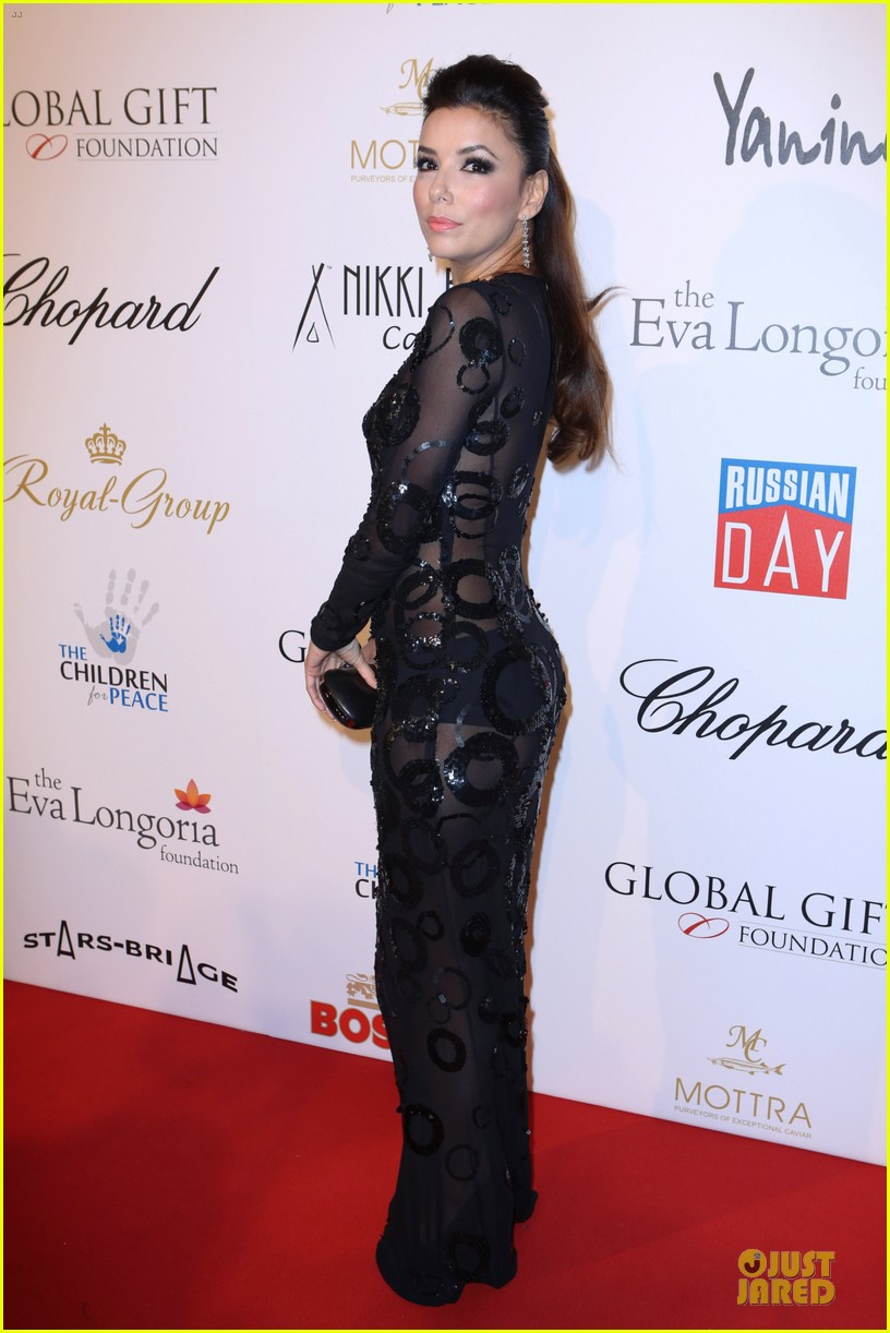 eva longoria cannes global gift gala 062874287