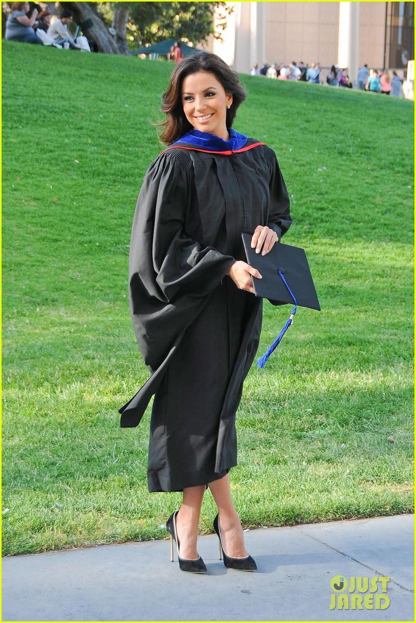 eva longoria graduates with a masters degree from csu 252876554