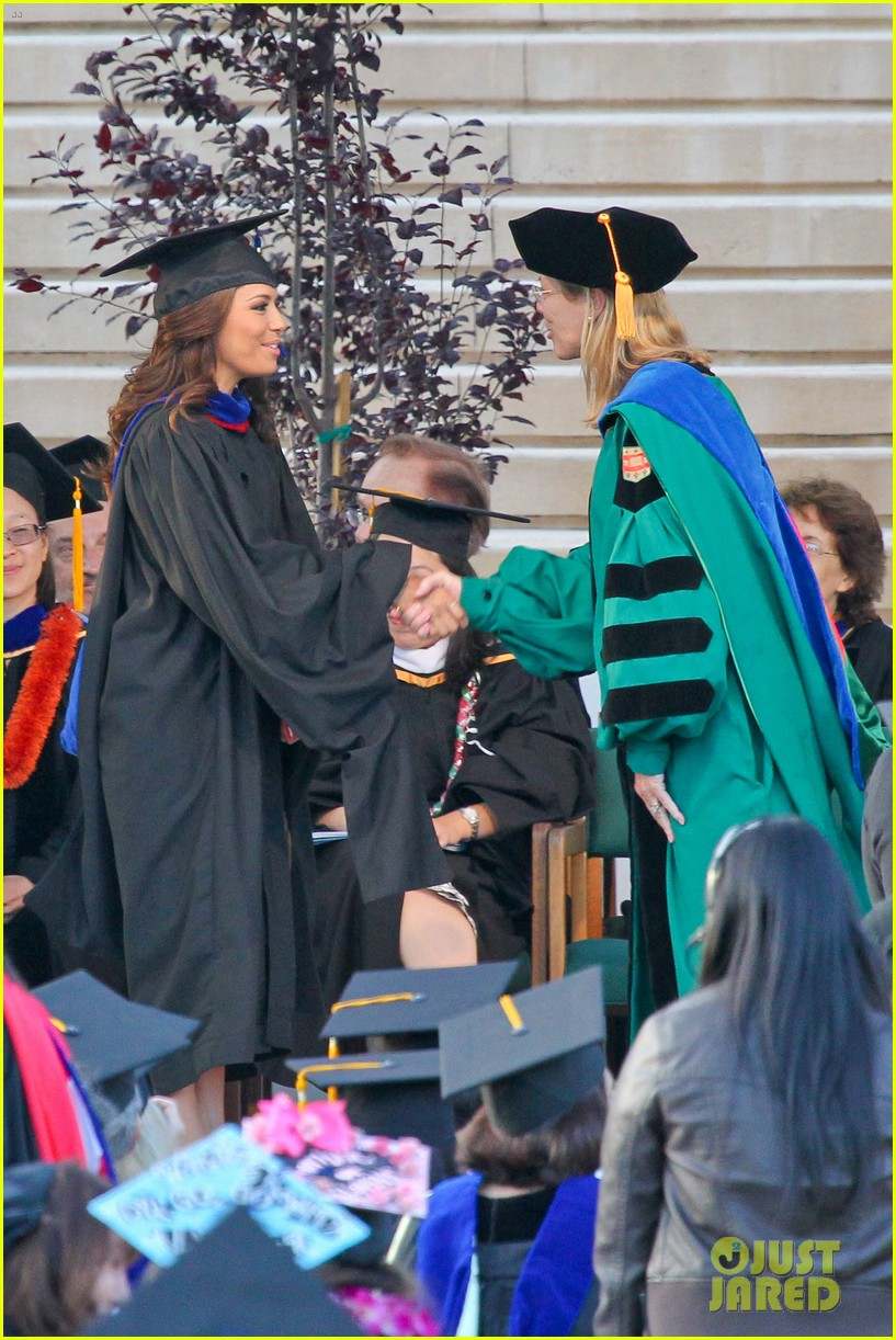 eva longoria graduates with a masters degree from csu 272876556
