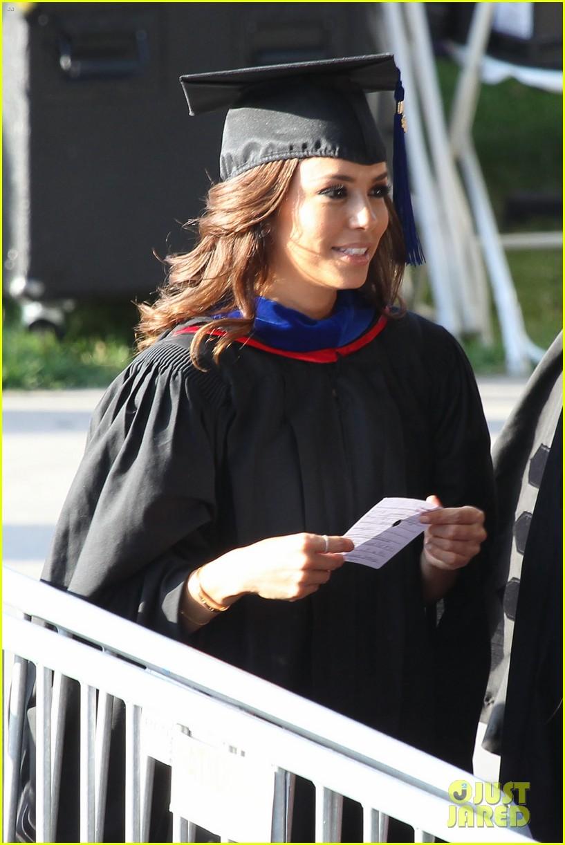 eva longoria graduates with a masters degree from csu 282876557