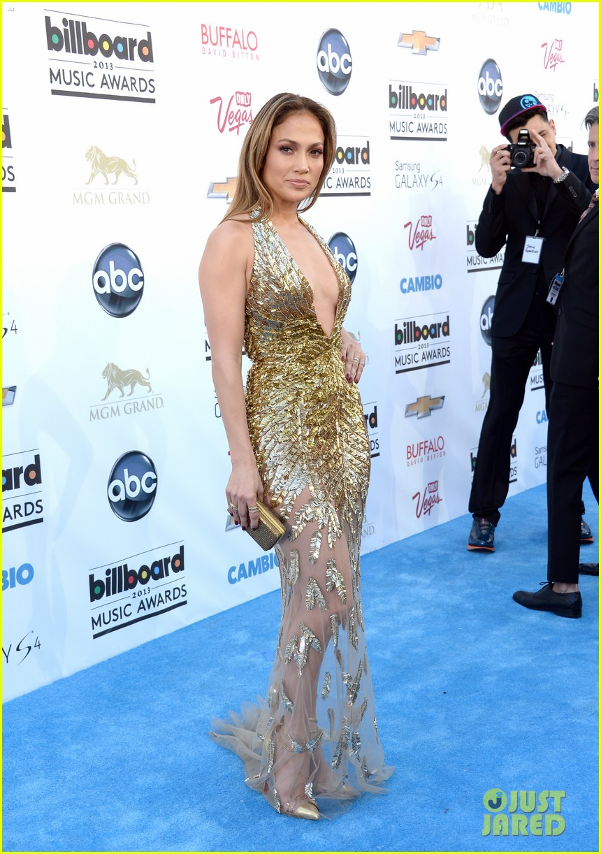 jennifer lopez billboard music awards 2013 with casper smart 102874006