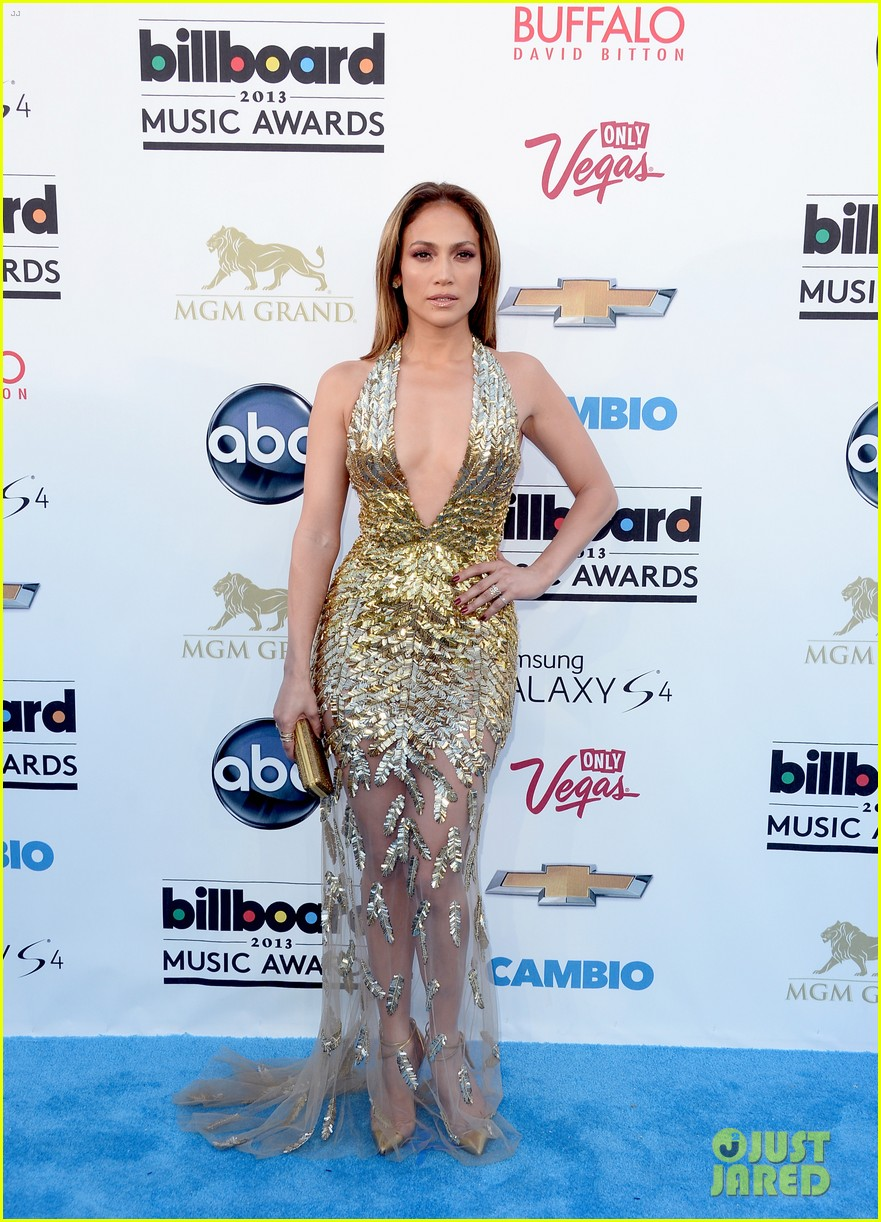 jennifer lopez billboard music awards 2013 with casper smart 122874008