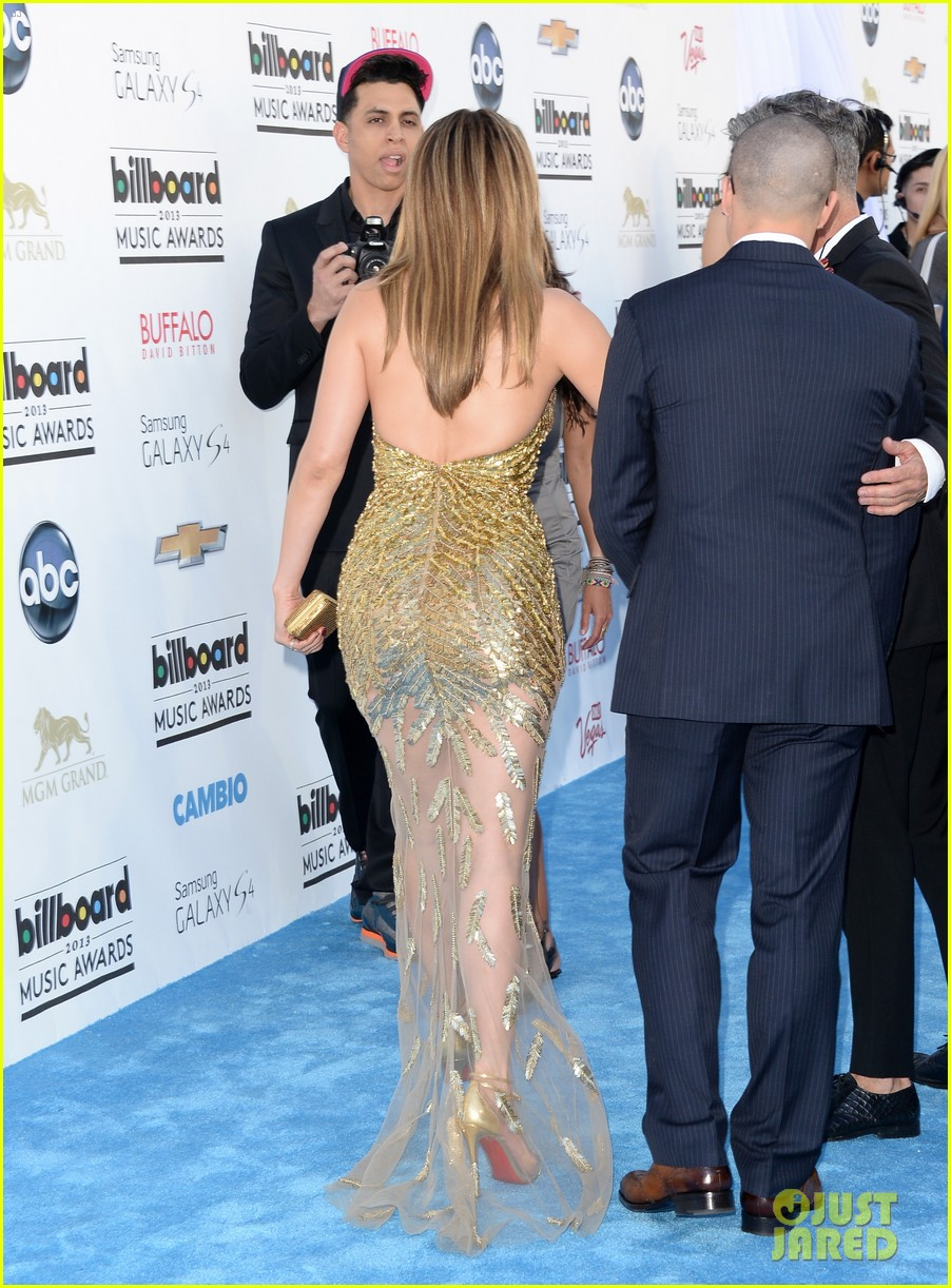 jennifer lopez billboard music awards 2013 with casper smart 152874011