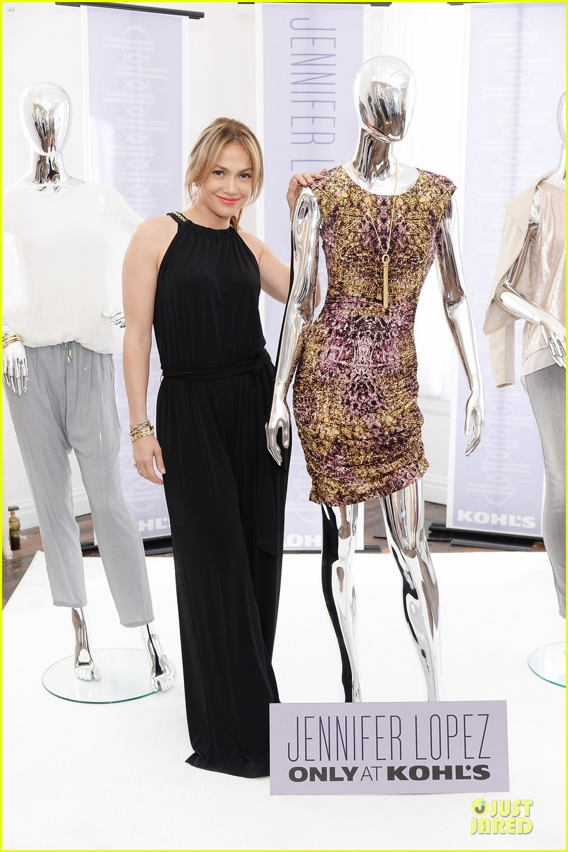 jennifer lopez for kohl fall 2013 collection launch 03