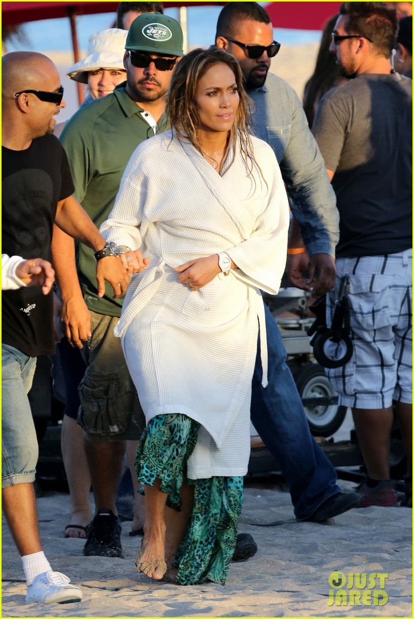 jennifer lopez music video set with shirtless casper smart 172864716