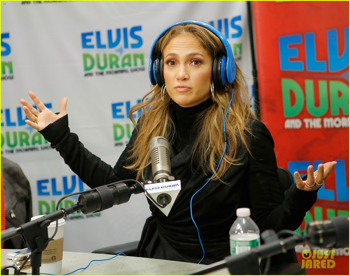 jennifer lopez visits z100 studios after releasing new song 072866845
