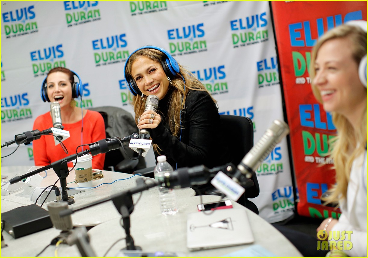 jennifer lopez visits z100 studios after releasing new song 102866848