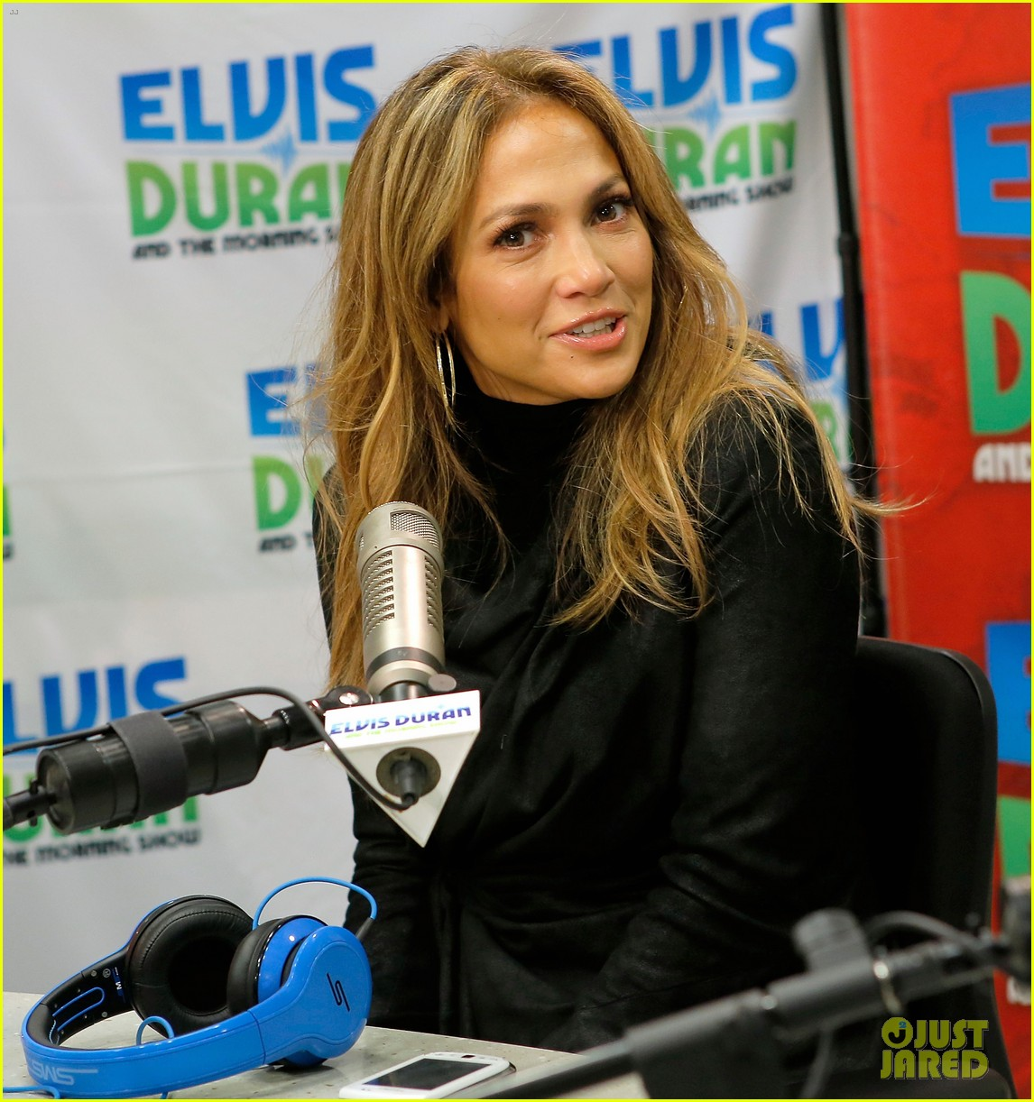 jennifer lopez visits z100 studios after releasing new song 122866850