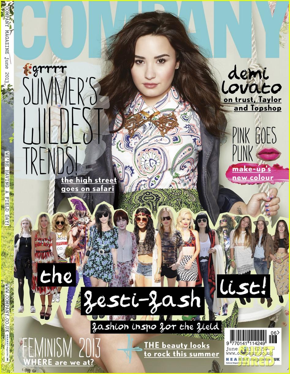 demi lovato covers company june 2013 01