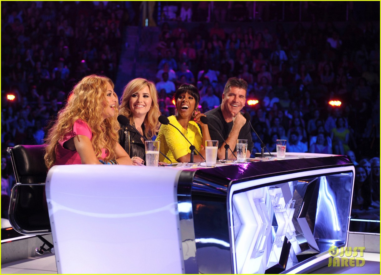 demi lovato kelly rowland x factor season 3 panel pics 052875908