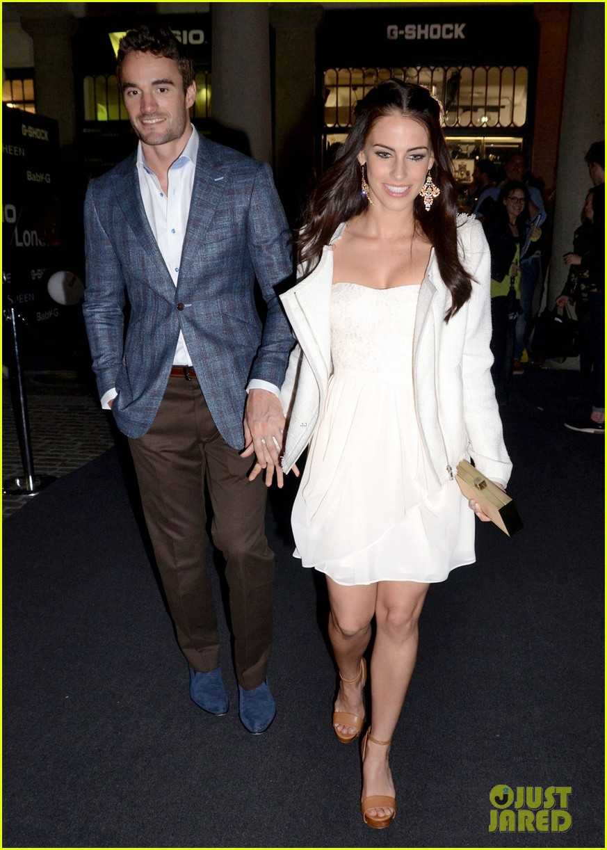 jessica lowndes thom evans casio london birthday party 052867097