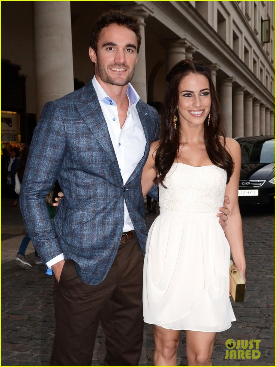 jessica lowndes thom evans casio london birthday party 072867099