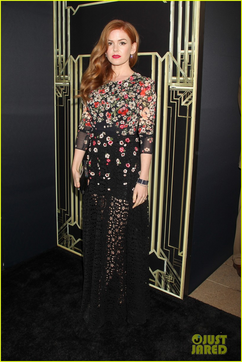 tobey maguire isla fisher great gatsby premiere 132862048