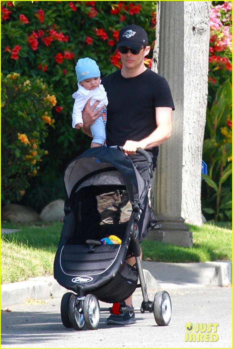 james marsden walks with son william luca 082879158