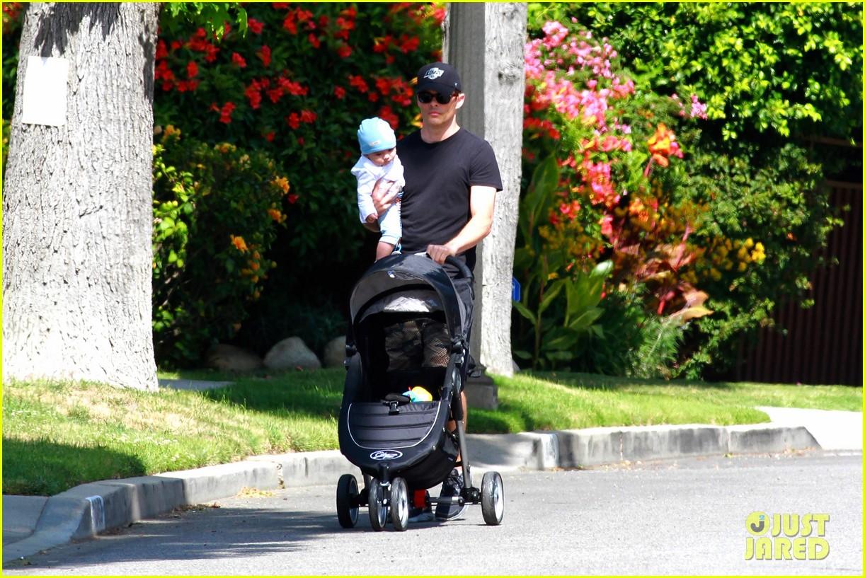 james marsden walks with son william luca 102879160