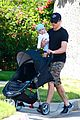 james marsden walks with son william luca 05