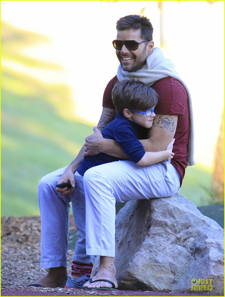 ricky martin bronte park with the twins 292875146