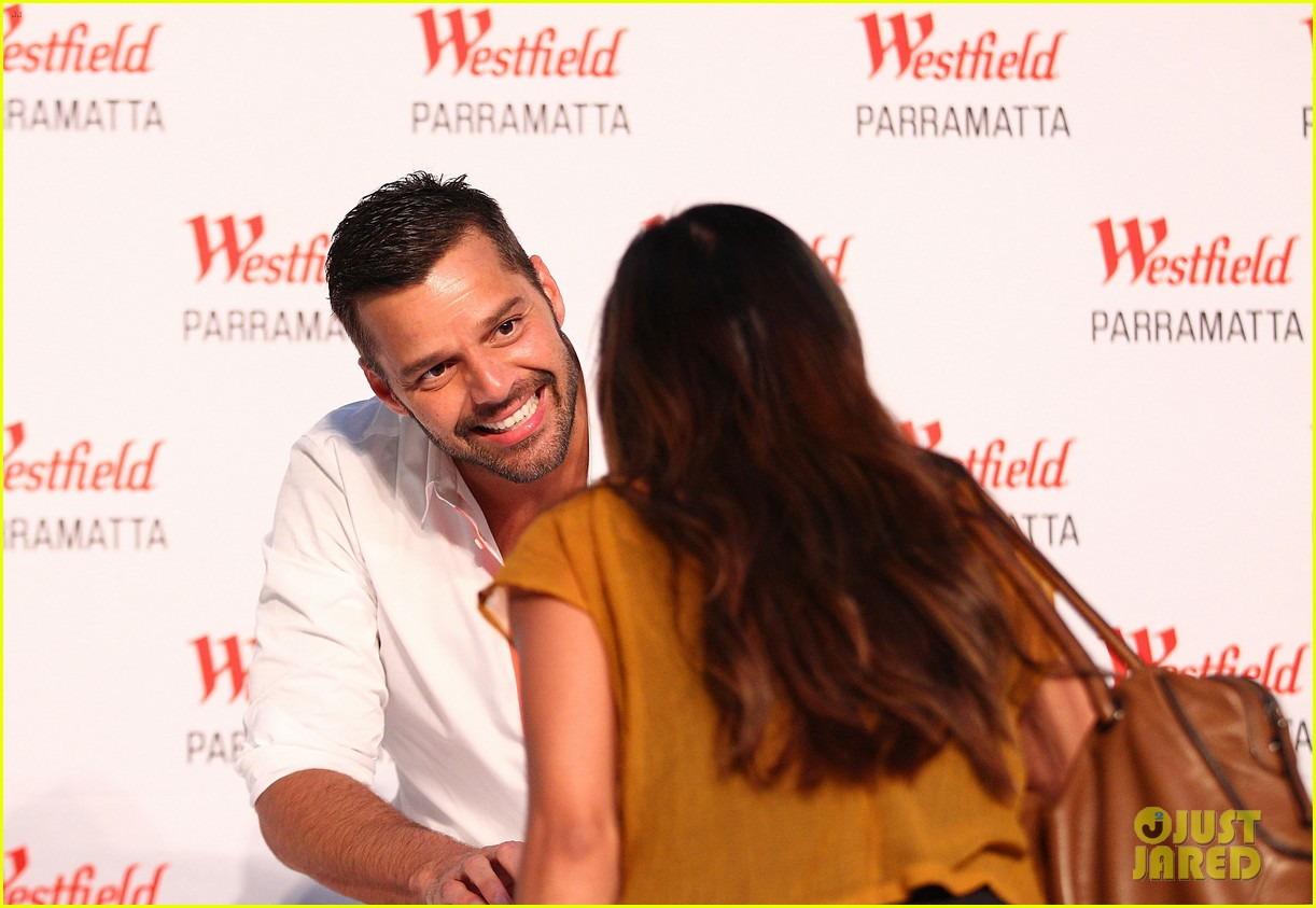 ricky martin meets fans at greatest hits event in australia 17
