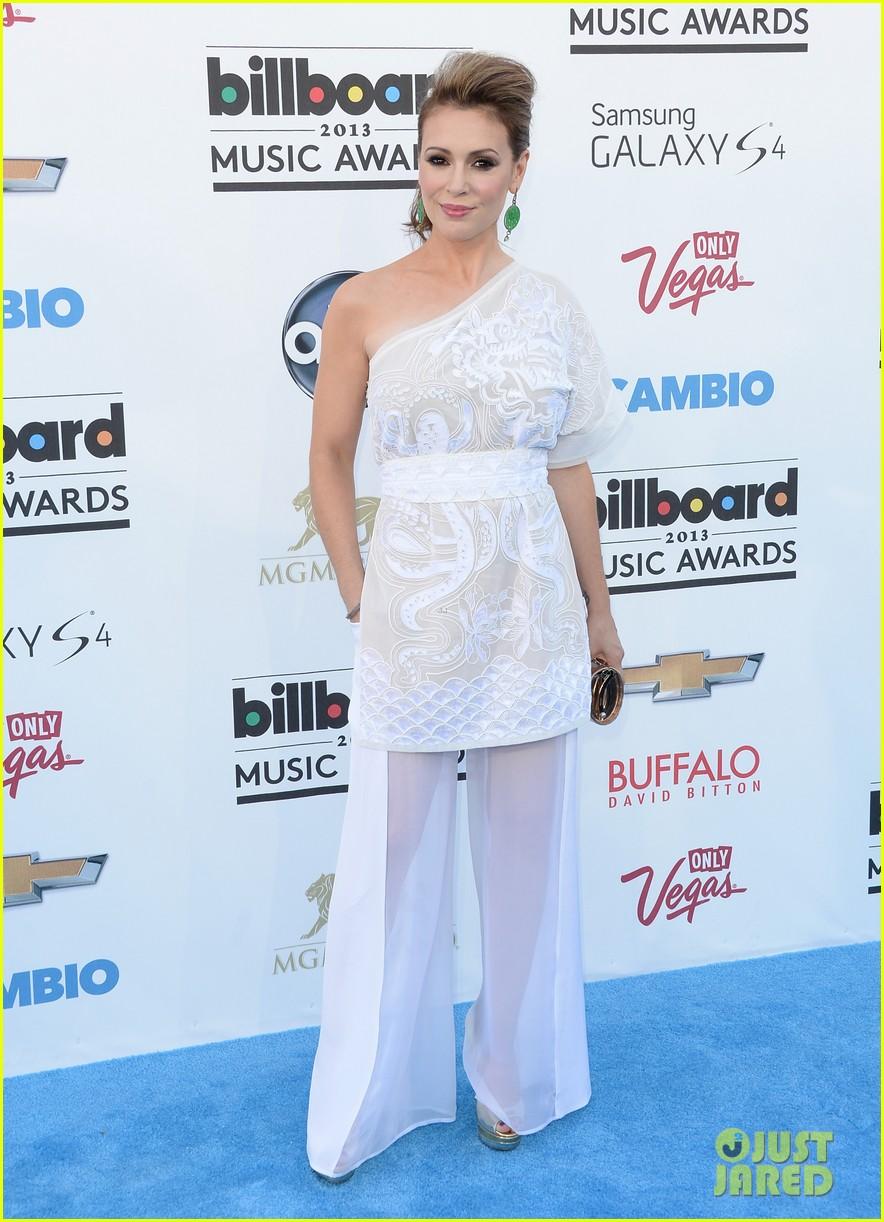 jenny mccarthy alyssa milano billboard music awards 2013 red carpet 092874137