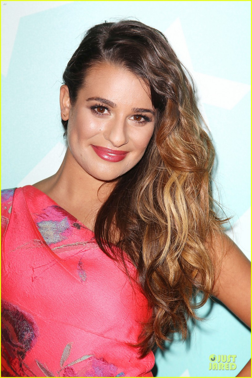 lea michele fox upfront presentation 022869855