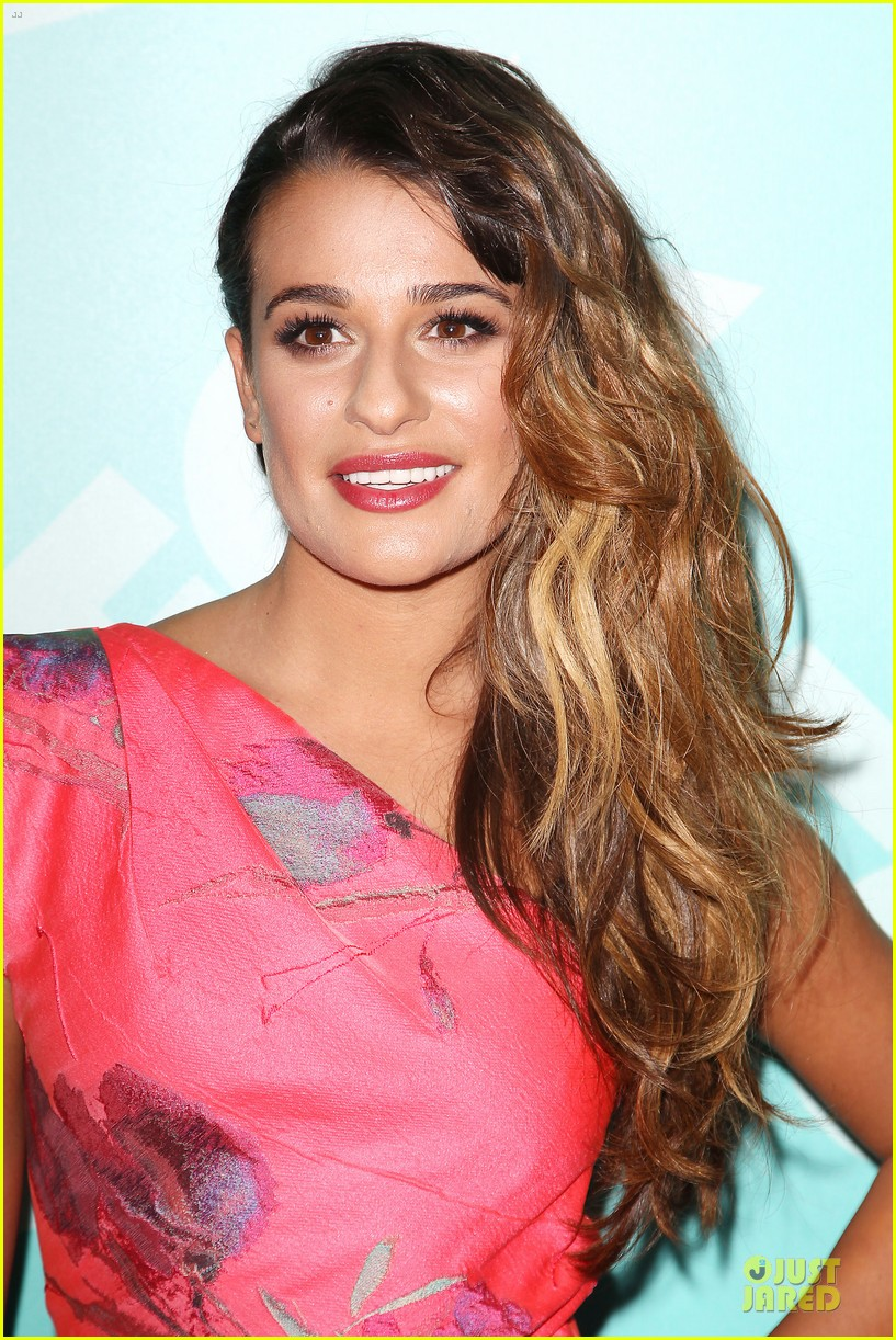 lea michele fox upfront presentation 092869862